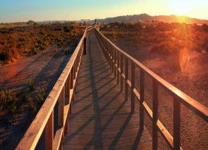Boardwalk Alvor near Portimao