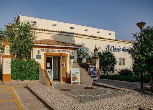 Reception Area Oasis Parque Portimao
